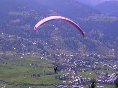 Paragliding at Bhaderwah