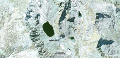 Kailash Kund Google Earth Satalite View