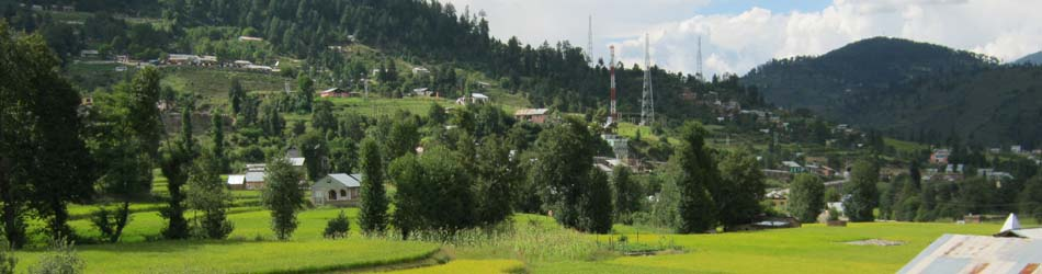 A View of Bhaderwah Town